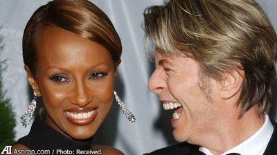دیوید رابرت جونز خواننده انگلیسی در سال 1992 با ایمان عبدالمجید بازیگر سومالیایی ازدواج کرد