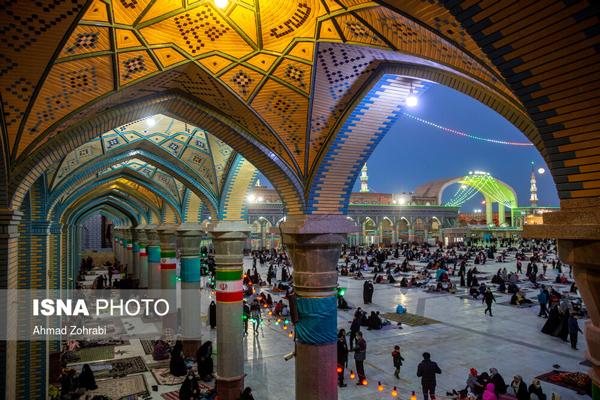 شب نیمه شعبان در مسجد مقدس جمکران