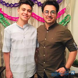علی منصوری و پسرش