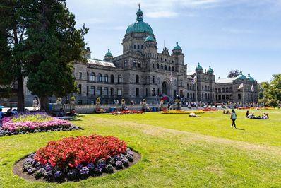 پارلمان کانادا در بریتیش کلمبیا، شهر ویکتوریا
