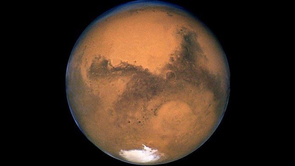 تصویر جدید کاوشگر چین از مریخ
