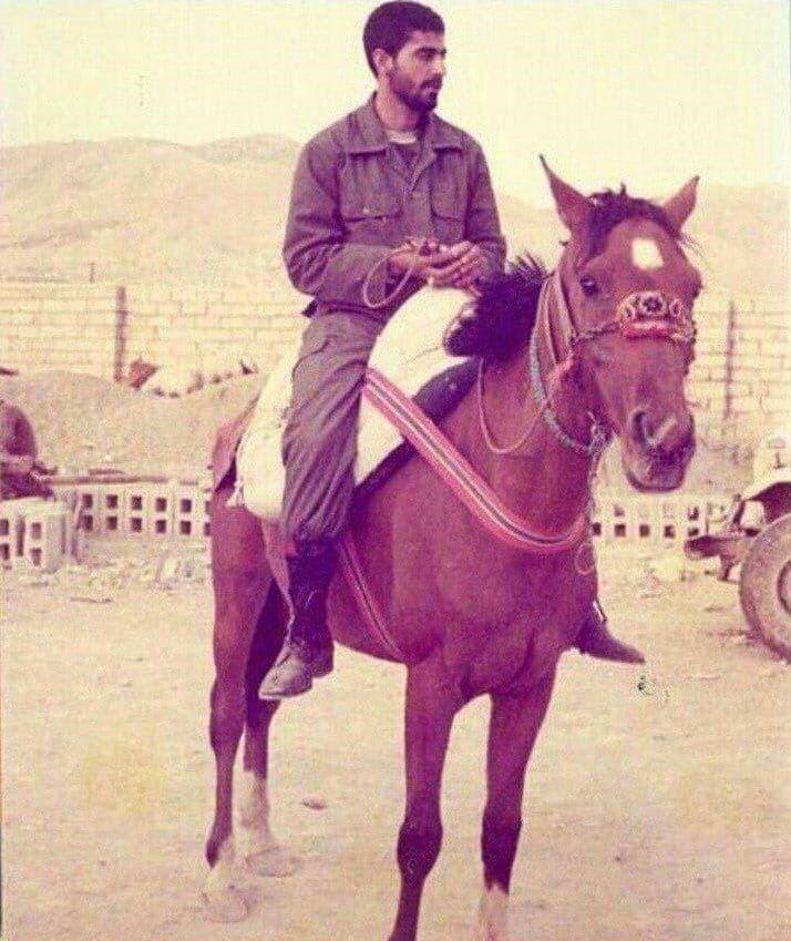 عکس دیده نشده از دوران جوانی سردار قاسم سلیمانی
