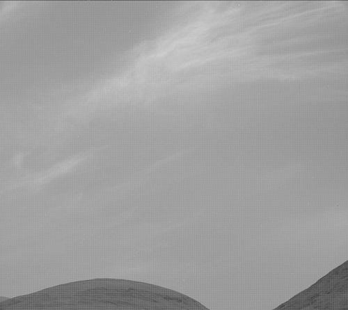 جدیدترین تصاویر ناسا از ابرهای مریخی