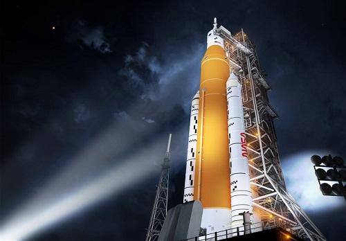 جدیدترین تصاویر ناسا از قدرتمندترین موشکهای فضایی