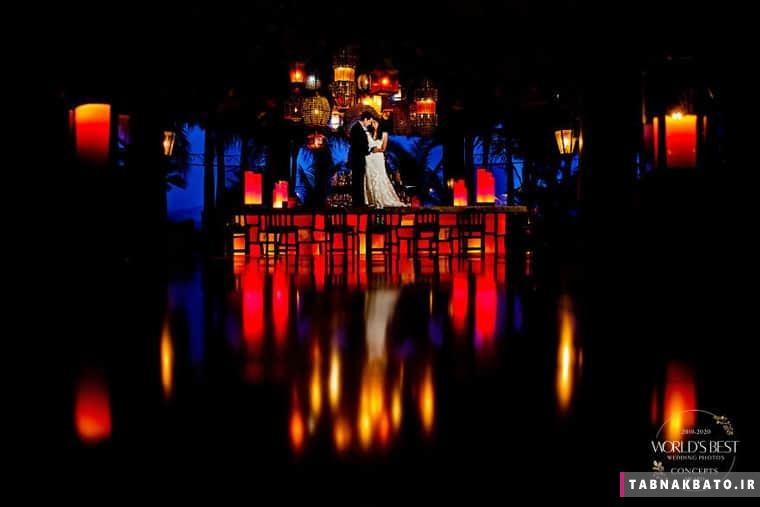 زیباترین عکسهای عروسی که گرفته شدهاند