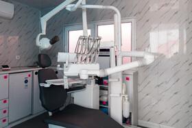 بخش دندانپزشکی بزرگترین بیمارستان سیار کشور