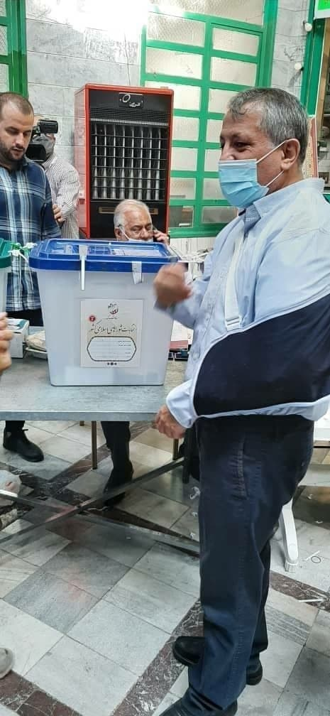 محسن هاشمی رییس شورای شهر تهران در انتخابات