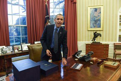 رئیس جمهور اوباما، سال 2015 میلادی.