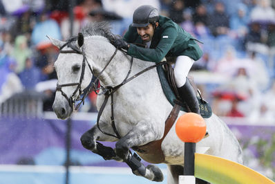 ملک عبدالله شاهزاده سعودی در المپیک تابستانی 2012.