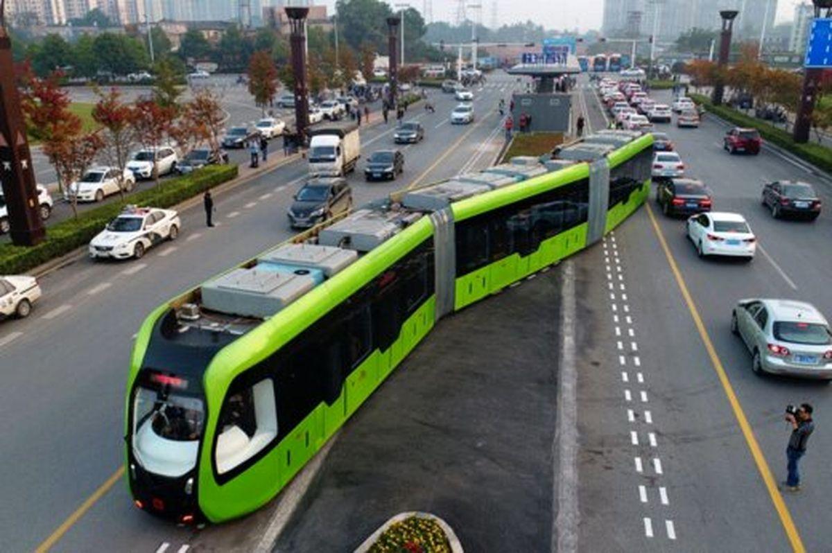 حرکت جدیدترین قطار بدون ریل و راننده
