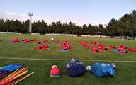 تصاویری از تمرین تیم ملی فوتبال بانوان