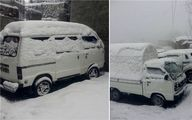 وقتی پاکستانیها از بارش برف غافلگیر میشوند/تصاویر