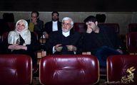 عارف و احمدخمینی در جشنواره فیلم فجر/عکس
