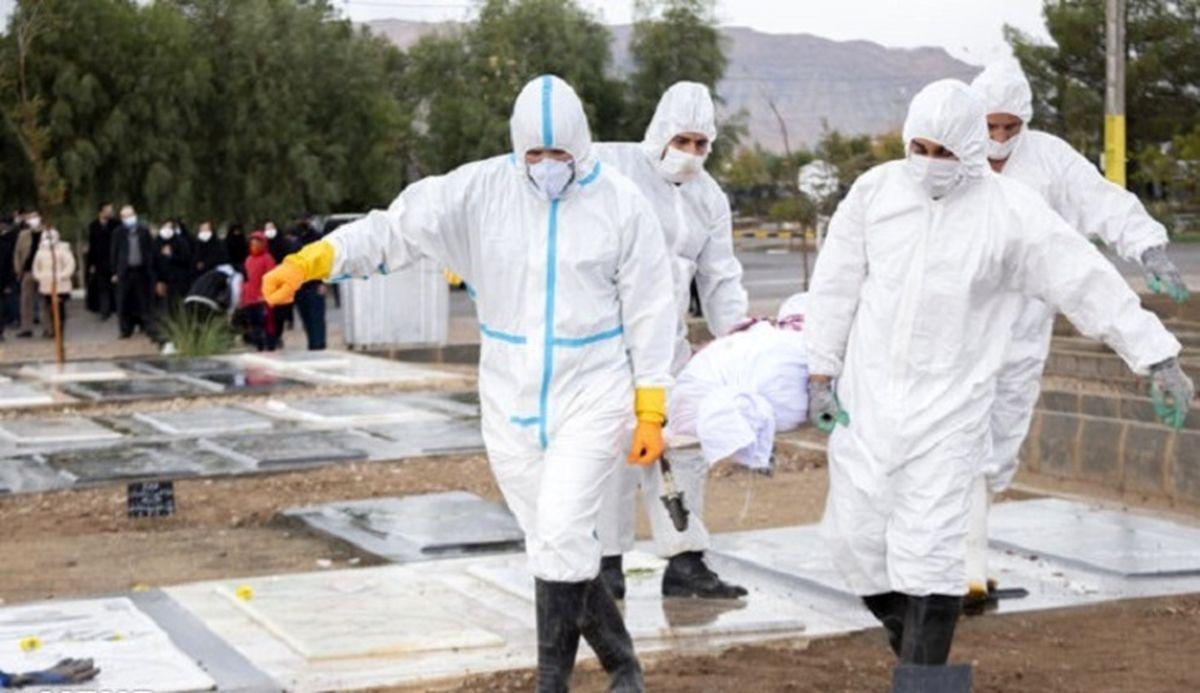 آمار کشته شدگان کرونا در ایران امروز 23 فروردین 1400 / فوتی ها نجومی شدند + اینفوگرافیک