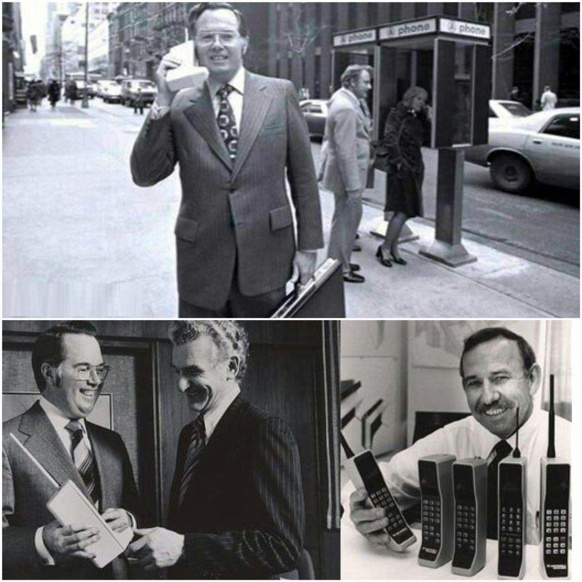 اولین تلفن همراه جهان/عکس