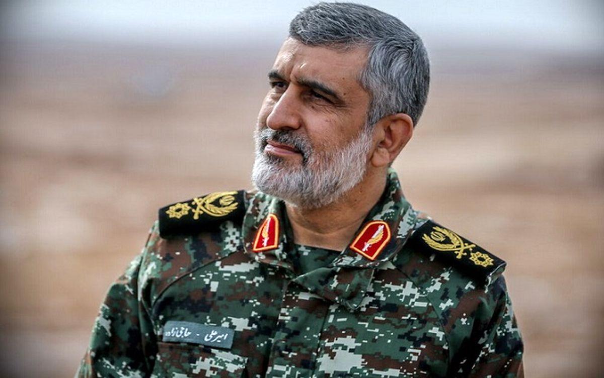 هشدار نظامی فرمانده هوافضای سپاه به تهدید اسرائیل + جزئیات