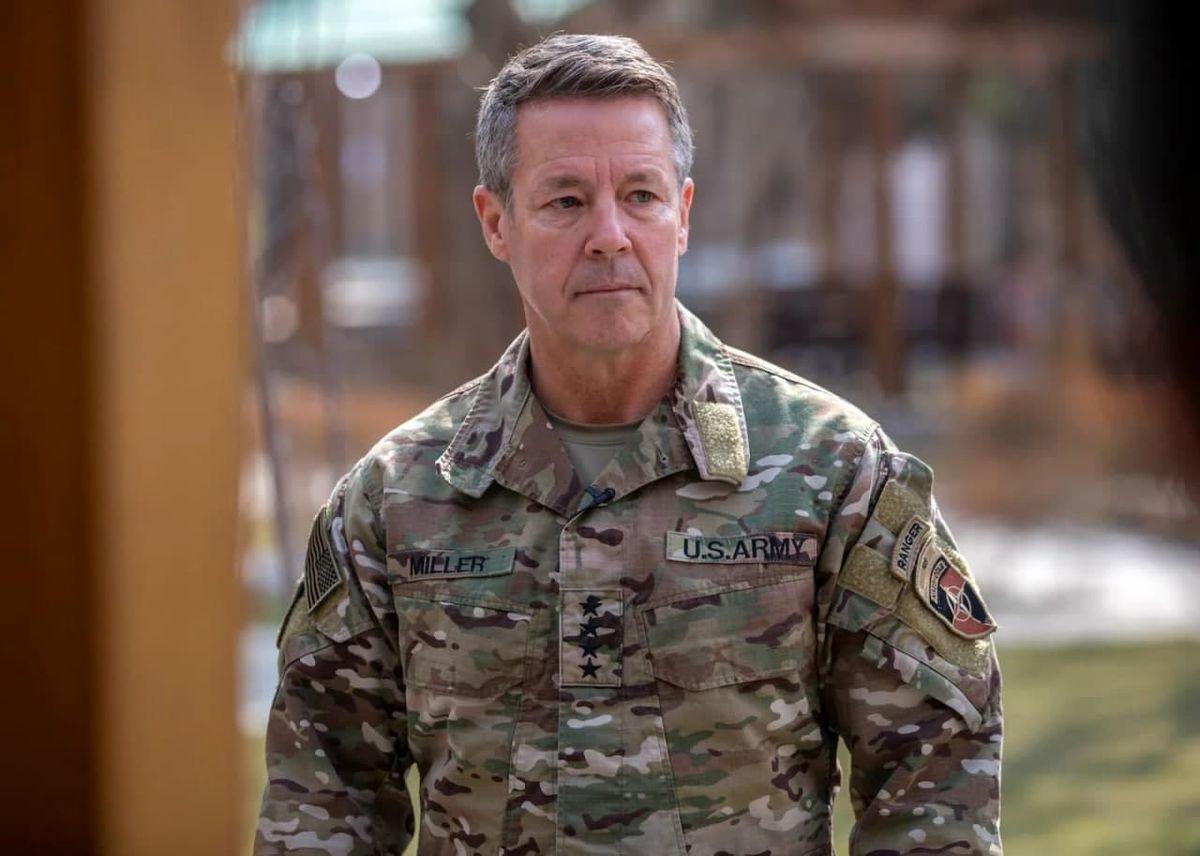 عکس آستین میلر فرمانده مستعفی نظامیان آمریکایی در افغانستان