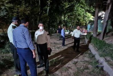 انفجار بمب در تهران