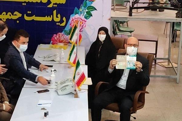 سردار دهقان وارد ستاد انتخابات شد
