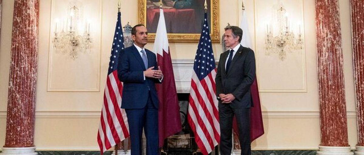 رایزنی تلفنی وزرای خارجه قطر و آمریکا درباره افغانستان