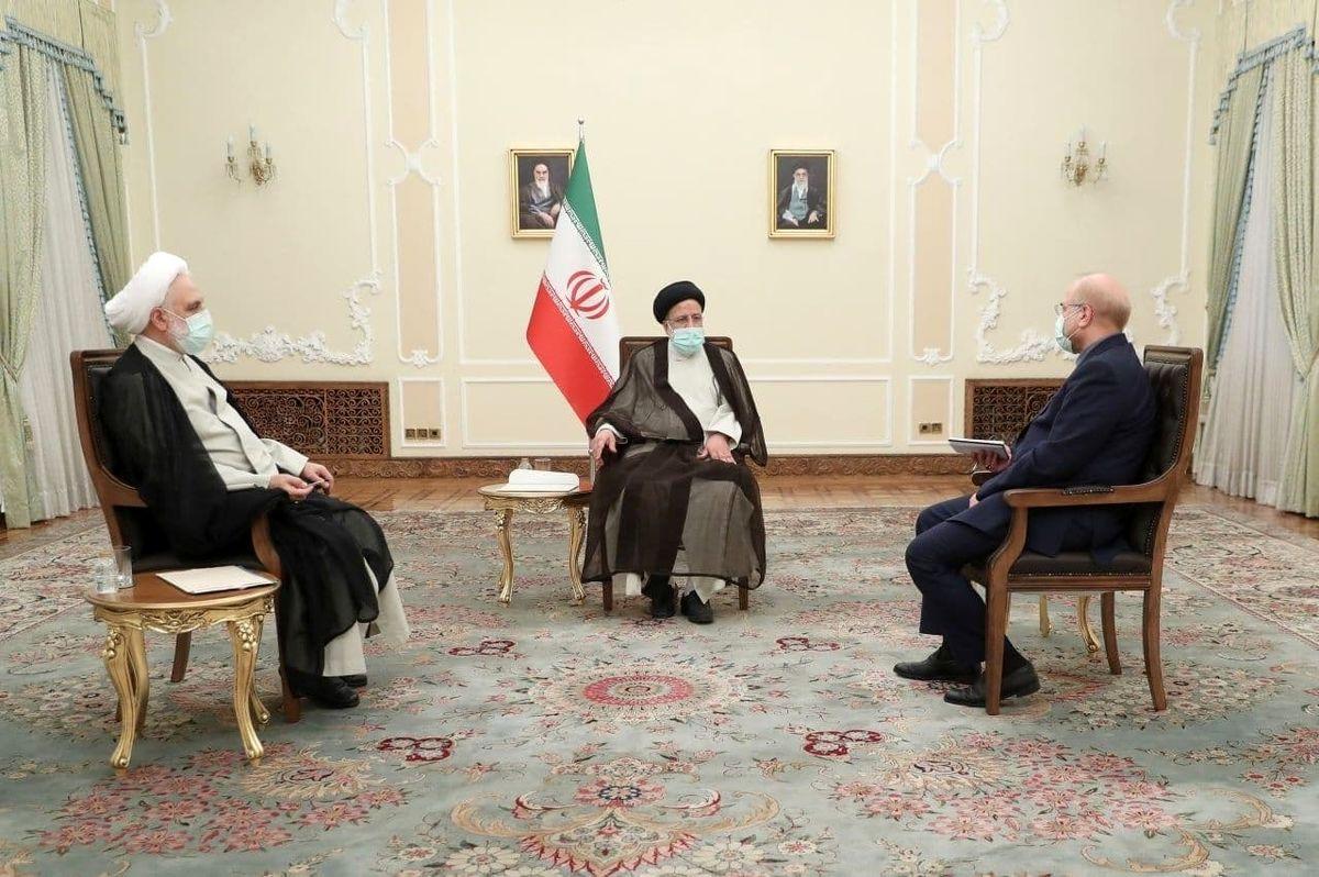 عکس:جلسه سران سه قوه برگزار شد