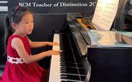 اعجوبه ۴ ساله برنده مسابقه معتبر موسیقی نخبگان