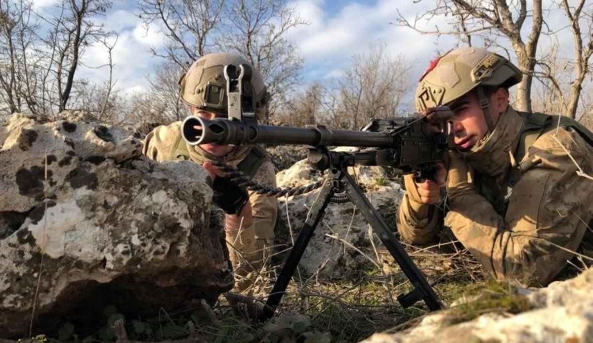 استقرار گسترده ارتش ترکیه در مناطق مرزی عراق