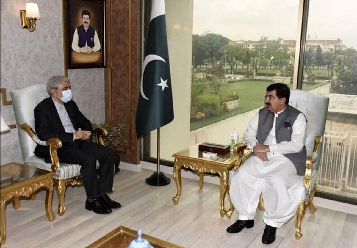 حضور رئیس مجلس سنای پاکستان در مراسم تحلیف رئیسی