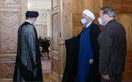 رییسی به دیدار رییس جمهوری رفت + عکس و جزئیات
