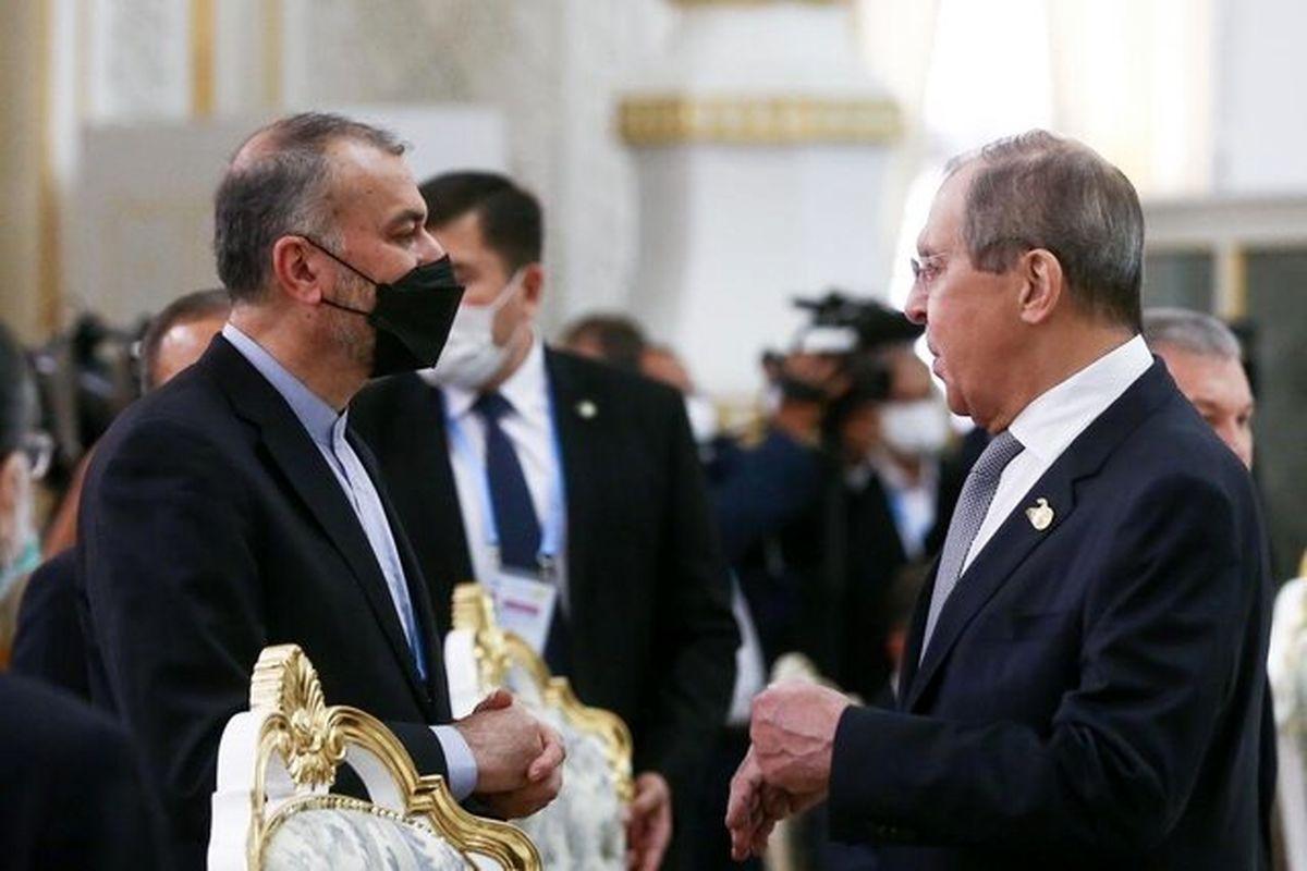 تشکر امیرعبداللهیان از حمایت پوتین و لاوروف