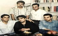 عکسی زیرخاکی از عطاران، شفیعیجم، رادش و سعید آقاخانی در جوانی