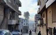 انفجار بمب در خودروی نظامی وابسته به ارتش سوریه