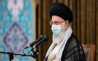 رهبر انقلاب:این مراسم نشان دهنده آرامش حاکم در کشور است