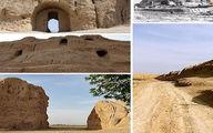 بزرگترین دژ خشتی نظامی ۳ هزار ساله جهان در ورامین