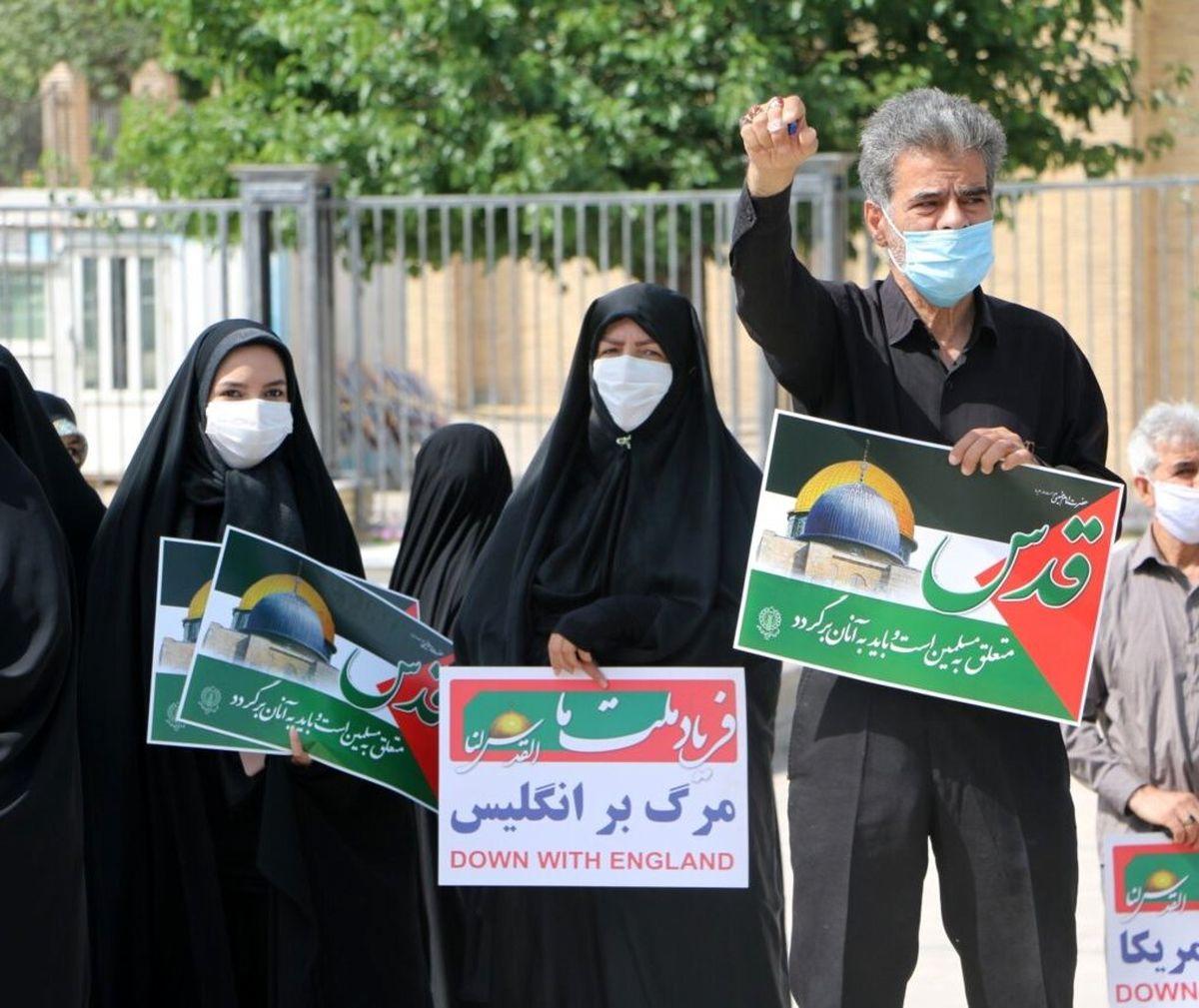 چند تجمع خودجوش مردمی در حمایت از فلسطینیان در مشهد برگزار شد