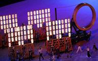 تصاویر مراسم افتتاحیه المپیک