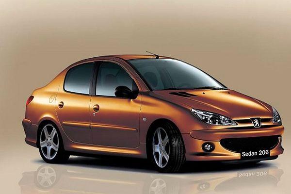 خودرو گران شد / افزایش 3 میلیون تومانی قیمت پژو 206