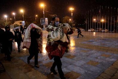 مراسم احیاء شب نوزدهم در حرم شاه عبدالعظیم (ع)