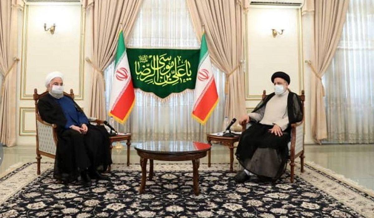 روحانی به دیدار رییس جمهور منتخب رفت + جزئیات