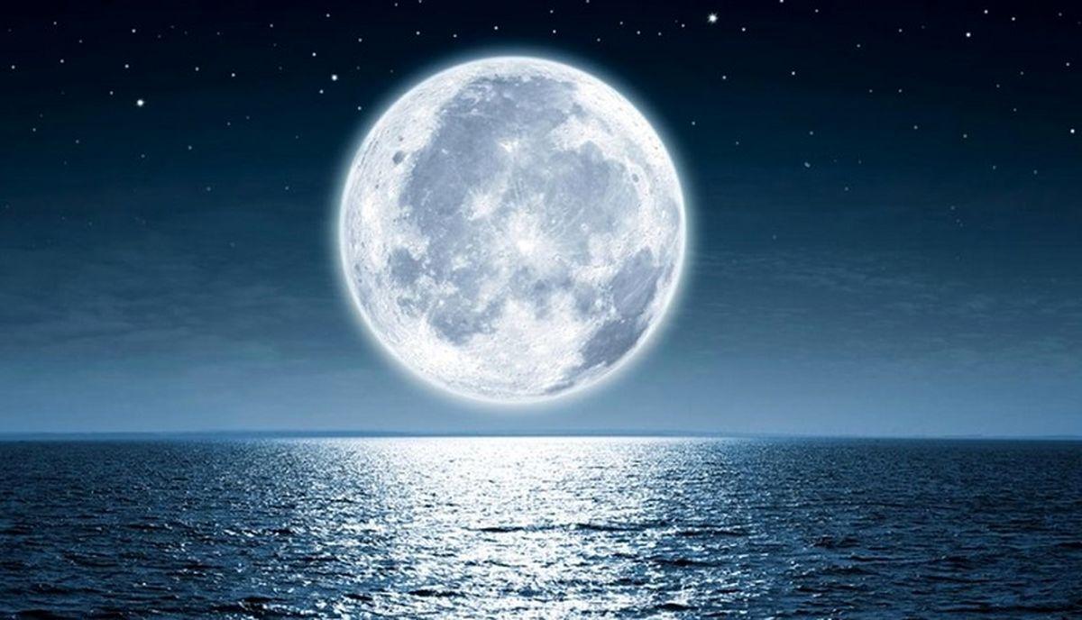 نزدیکترین تصویر فاصله ماه به زمین + عکس جذاب
