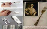 تصاویر قاشق و چنگالهای آدولف هیتلر در حراجی