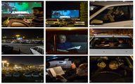 احیای شب قدر در خودرو + عکس