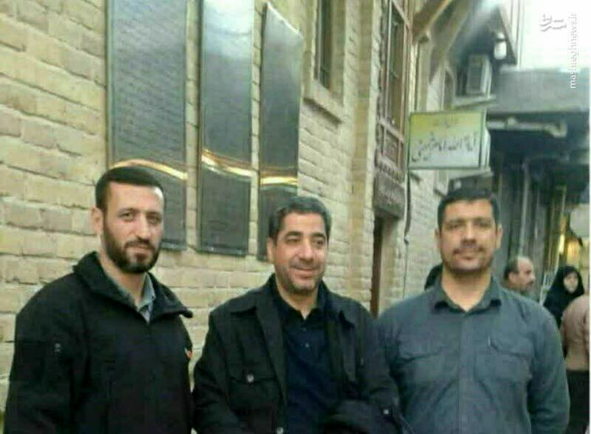 عکس دیده نشده از محافظان سردار سلیمانی قبل از شهادت