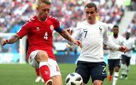 صعود فرانسه و دانمارک با ثبت اولین تساوی بدون گل جام/ استرالیا با یک امتیاز چهارم شد!