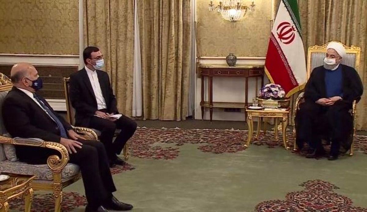 وزیر خارجه عراق با روحانی دیدار کرد