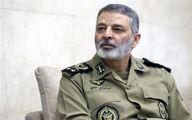 هشدار فرمانده کل ارتش به دشمنان ایران: هرگونه طمعورزی را در نطفه خفه میکنیم