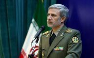 هشدار وزیر دفاع ایران به آمریکا؛ مزاحمت برای نفتکشها را تحمل نمیکنیم