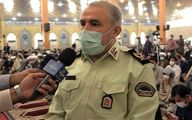 فرمانده انتظامی استان خوزستان:  نیروی انتظامی با قاطعیت با مخلان نظم و امنیت برخورد می کند
