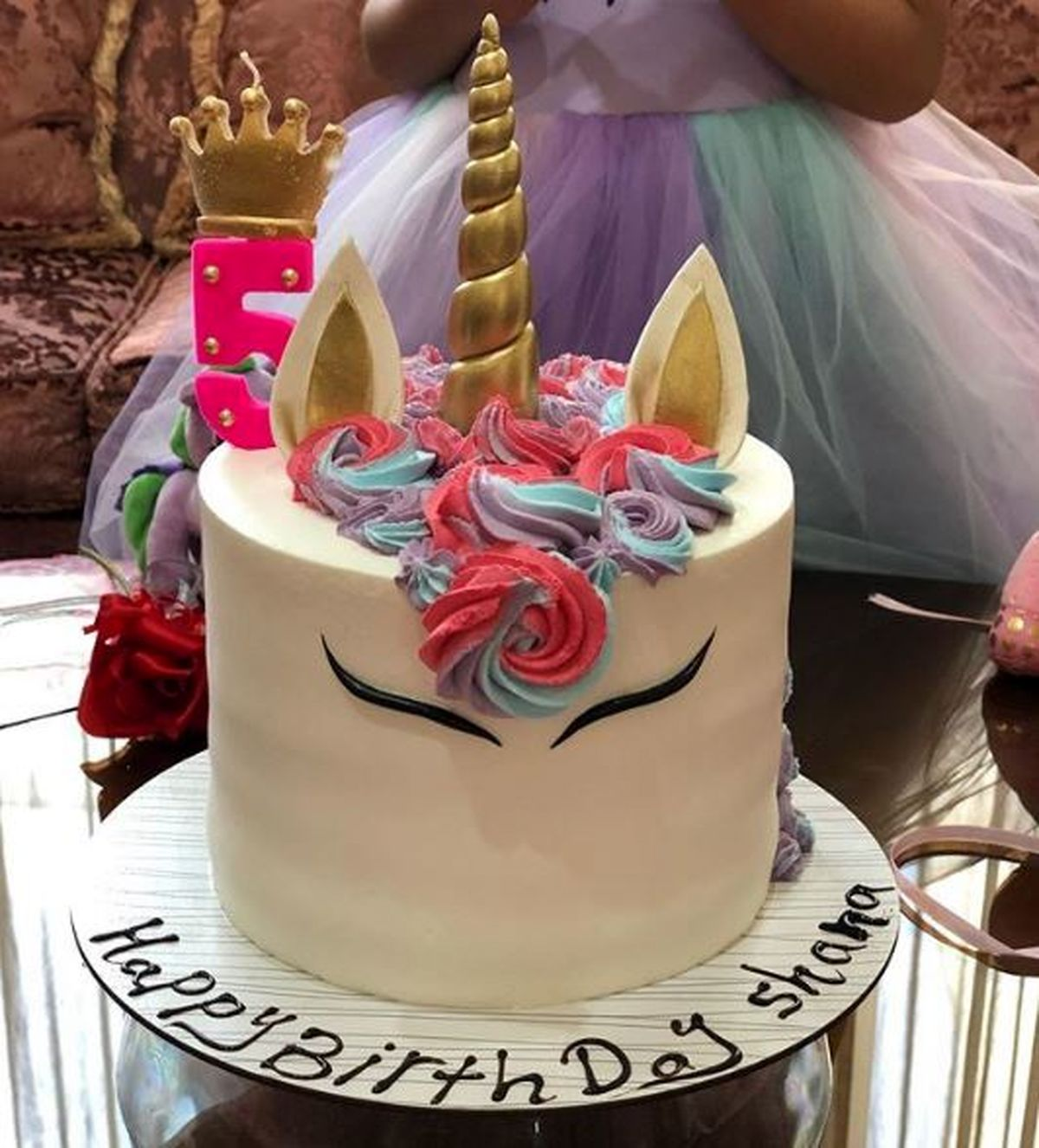کیک تولد دختر شبنم قلیخانی + عکس