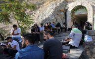 مراسم دعای عرفه در کهف الشهداء / تصاویر